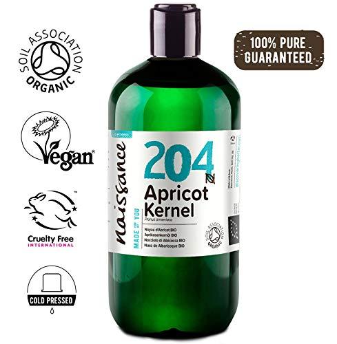 Naissance Olio di Nocciolo di Albicocca Biologico - Olio Vegetale Puro al 100% - 500ml