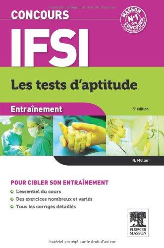 Concours IFSI Entraînement Les tests d'aptitude