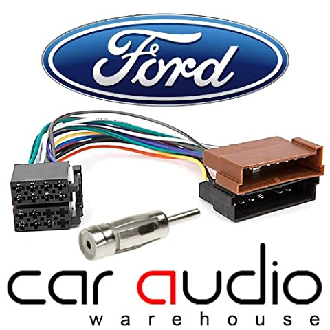 Ford ISO Car Stereo Radio Wiring Harness Loom Adaptor Lead