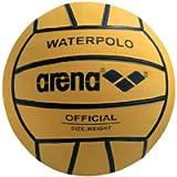 ARENA 0000095202 Palla di watepolo, Uomo, Yellow/Black, Taglia Unica