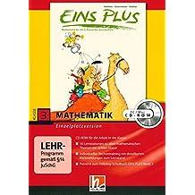 EINS PLUS 3. Ausgabe D. Lernsoftware für die Klasse: Einzelplatzversion. Klasse 3
