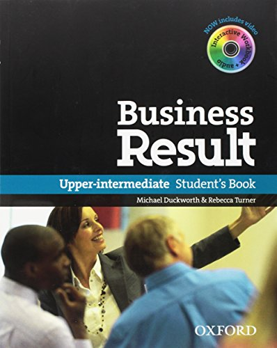 Business Result DVD Edition: Upper-Intermediate: Student's Book with DVD-ROM and Interactive or Online Workbook