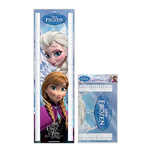 Frozen Folded Height Chart Anna Elsa Disney Children Girls Kids Olaf Gift Movie (Girl Fab)