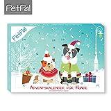 Hunde Adventskalender 2017 von PetPäl | DIE leckersten Snacks & Leckerli für deinen Hund zu Weihnachten | Gesunde Leckerlie zum Advent - Getreidefrei, Glutenfrei, Ohne Zucker, Ohne Künstliche Farb- & Aromastoffe | Hart Gebacken - Optimal für die Zahnpflege