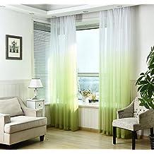 suchergebnis auf f r 2 gr ne vorh nge schlaufenschals. Black Bedroom Furniture Sets. Home Design Ideas