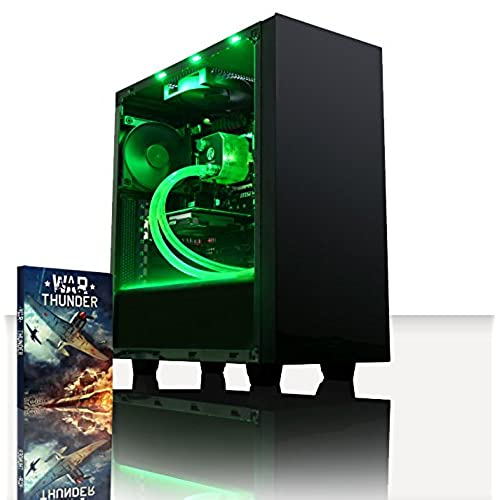 vibox theta 41 gaming pc computer with war thunder game voucher 40ghz amd fx quad core processor nvidia geforce gt 730 graphics card 8gb ddr3 1600mhz