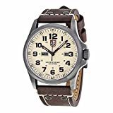 Luminox Luminox Atacama Feld Tag Schwarz Carbon Faser Zifferblatt Brown Leder Mens Watch 1927