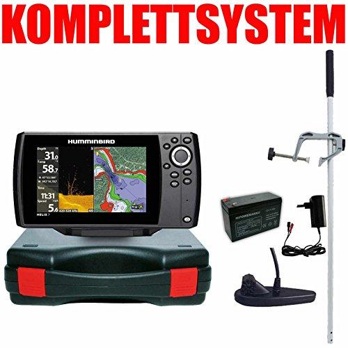 Humminbird Echolot GPS Portabel Master - Helix 7 Chirp GPS Mega DI G3