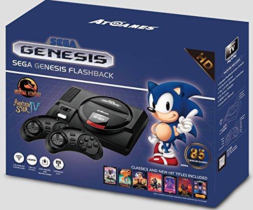 Foto AtGames Sega Genesis Flashback con 85 Giochi