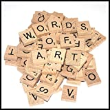 2 Wooden Scrabble Tiles of Your Choice (pick 'n' mix) Pick your own Letters