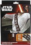 STAR WARS Chewbacca - Seatbelt Cover Set di coprisedili per Auto Marrone