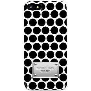 Michael Kors Dot Print iPhone 5/5s Case (White)