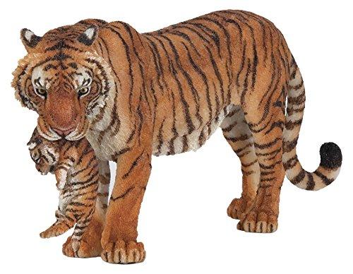 Preisvergleich Produktbild Papo 50118 - Tigerin mit Jungtier, Spielfigur