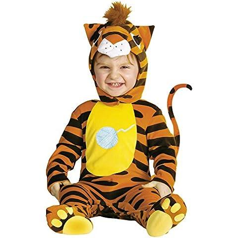 Bebé del gato de tigre Cutie Disfraz infantil de Animal Jungle Farm vestido de lujo