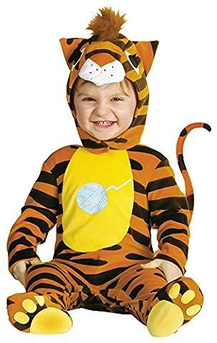 Halloween Costume Ideas Pour 18 Ans De - WIDMANN 2760G–Costume Bébé Chat, rayé, taille 1–2ans,