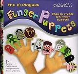 10 Stück Fingerpuppen Fingertiere Handkasperletheater Puppets - Die zehn biblischen Plagen oder Landplagen für Passah