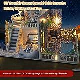 DIY Assembly Cottage Santorini Kabine Innovative Geburtstagsgeschenk Lernspielzeug