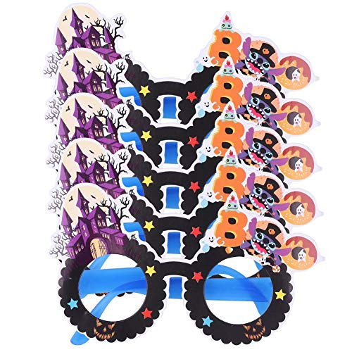 Matefield Niedliches Kinder Funny Eyewear Bar Halloween Kostüm Gläser Party Decor ()