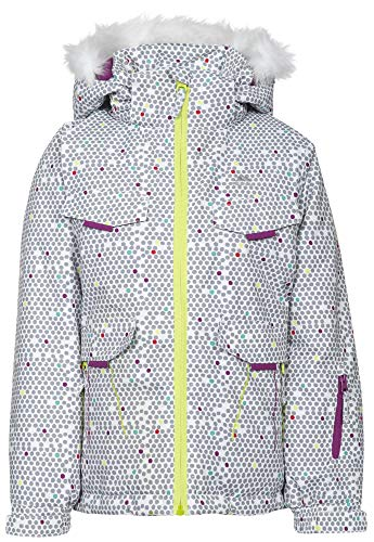 Trespass Hickory Girls Ski Jacket - Hickory Weiß Outlet