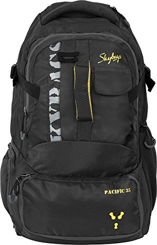 Skybags Pacific Black 35L Overnighter Backpack Trolley (BPPACSTBLK)  available at amazon for Rs.4250
