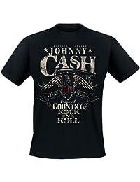 Johnny Cash - Original Country Rock'n'Roll T-Shirt (XXL, schwarz)