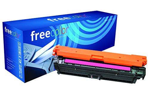 Preisvergleich Produktbild freecolor CE743A für HP Color LaserJet CP5225, Premium Tonerkartusche, wiederaufbereitet, 7.300 Seiten, 5 Prozent Deckung, MAGENTA