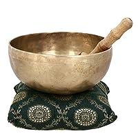 Religiöses Geschenk Handgemachte Klangschale Buddhistischen Glocke Für Meditation Und Heilung 17,7 Cm