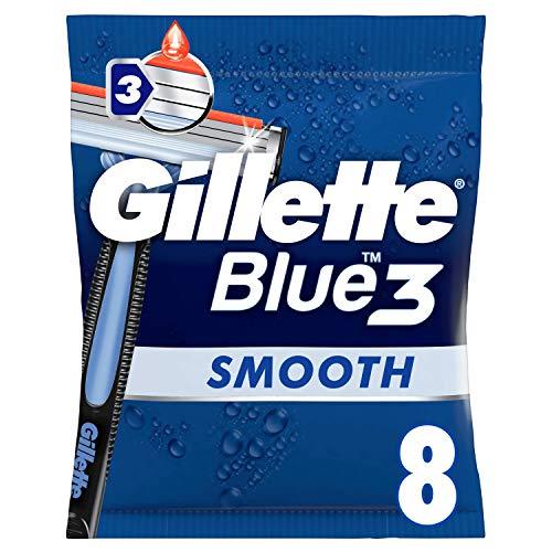 Gillette Blue3 - Maquinillas Desechables Hombre x8