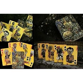 54 cartes Format Poker design Everyday Zombies (Par Bicycle)