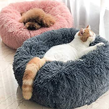 Coussin Moelleux Moelleux Confortable pour Le Sommeil, soulagement orthopédique pour Sac de Couchage et Sommeil amélioré, Fond antidérapant, Lavable en Machine (M-60CM, Dark Grey)