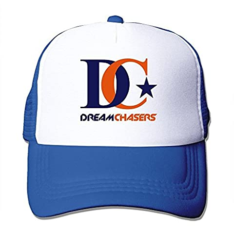 Feruch Custom Your Own Adult Unisex Dream Chasers 100% Nylon Mesh Caps One Size Fits Most Adjustable Trucker Hat Royalblue