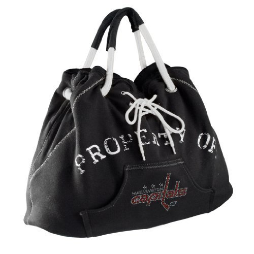 nhl-washington-capitals-sport-noir-hoodie-tote-black-by-littlearth