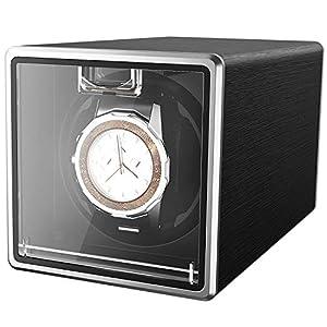 CRITIRON Automatischer Uhrenbeweger für 1 Uhr Netzteil Teilen Watch Winder Uhrenbox Uhrendreher Uhrenwender
