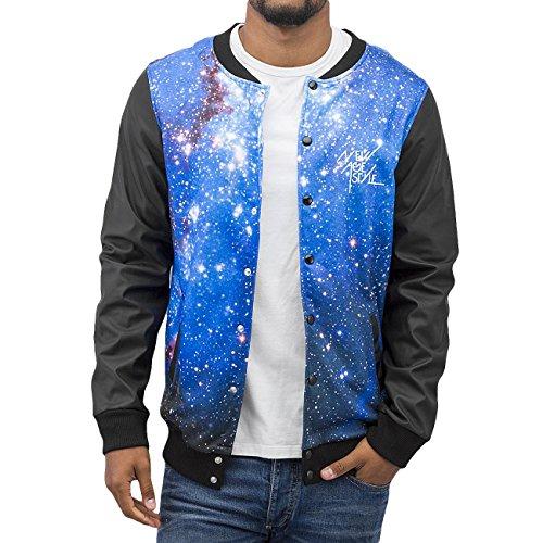 VSCT Clubwear Homme Vestes & Blousons / Blouson Teddy Galaxy Noir