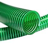 50mm (2 Zoll) 5m PVC Saug- und Druckschlauch Hochflexible und kältebeständige Qualität Schleppschlauch, Gülleschlauch