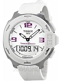 Tissot Tissot T-Race analógico digital Blanco Goma Mens Reloj T0814201701700