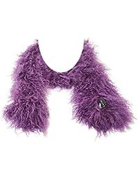 Chal Tíbet piel de cordero para señoras ¡Una amplia gama de colores!