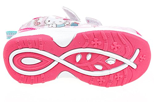 Hello Kitty Kinder Sportschuhe, mit Klettverschluss, Original Lizenzware, Gr. 24-32 Rosa/Pink