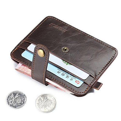 CATOP Minimalistisch Geldspange mit Schmaler Kartenhalter RFID Schutz Geldbörse für Damen und Herren(Neues Produkt kommen mit großem Verkauf, nur 2 PC / Farbe)