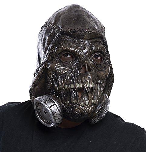 Maske Vinyl Männer (Batman Vogelscheuche Kostüme)