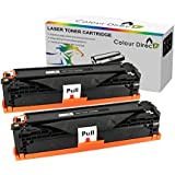 2 X Colour Direct Haute Capacity Laser Toner Cartouche Pour DELL B2360d B2360dn B3460dn B3465dnf Printers ; 8,500 Page Yield