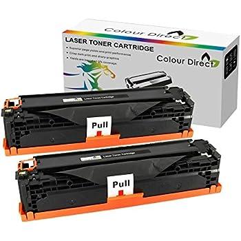 Twin Pack Colour Direct Compatible Toner Cartouches Remplacement Pour HP CF283A / 83A - LaserJet Pro M201dw M201n MFP M125a M125nw M125rnm M127fn M127fp M127fw M225dn M225DW imprimantes- Noir