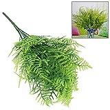 Kunststoff Kunstpflanze künstliche Gras Ziergras Dekopflanze Haus Tisch 7 Zweige
