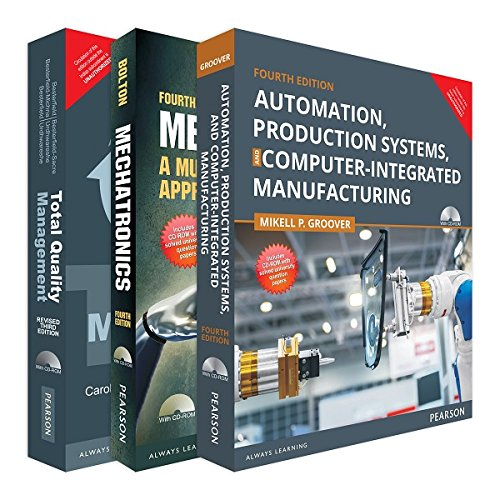 Anna University - ME 5th Sem. Combo of Mechatronics, Automation, Production Systems, Computer-Intergrated Manufacturing & TQM