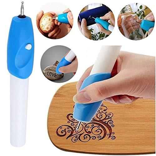 Diy Electric Engraver Pen Engraver Carve Strumento per gioielli in metallo vetro gioielli