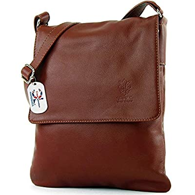 Craze London Genuine Italian Leather Verapelle Large Cross body Messenger Bag/Womens Ladies Verappele hand Bags