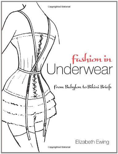 Fashion in Underwear: From Babylon to Bikini Briefs (Dover Books on Fashion) - Womens Fashion-brief