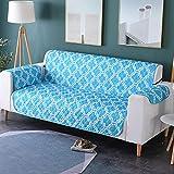 Zwei Sitzer - Wasserdicht Gesteppte Sofabezüge - Sessel Möbelschutz Für Hunde Haustiere Kinder Sofabezug,H