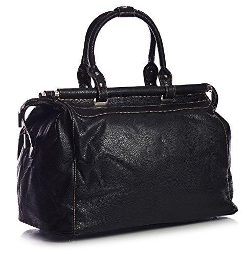 Big-Handbag-Shop-Faux-Leather-In-Flight-Holiday-Travel-Holdall-Hand-Luggage-Bag