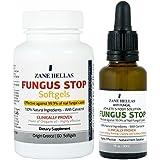 Fungus Stop pie de atleta ADVANCED solución KIT - Fungus Stop Solución Pie de Atleta 30 ml + Fungus Stop Cápsulas, 60 Cápsulas Blandas